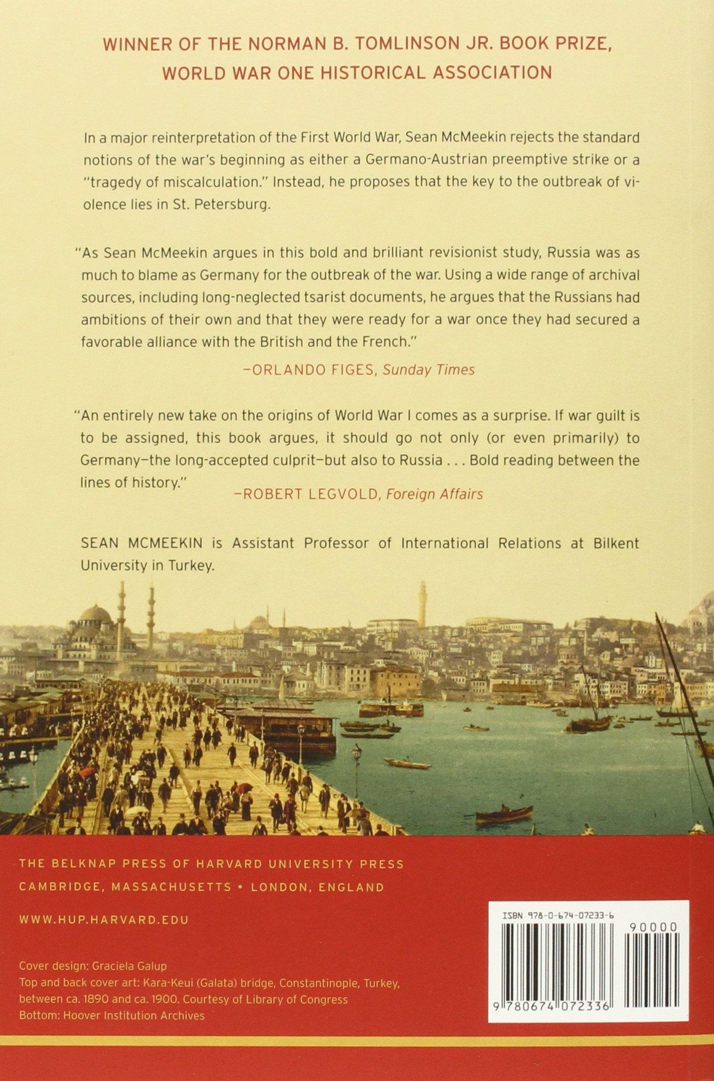 The Russian Origins of the First World War: Sean McMeekin: 9780674072336:  Amazon.com: Books