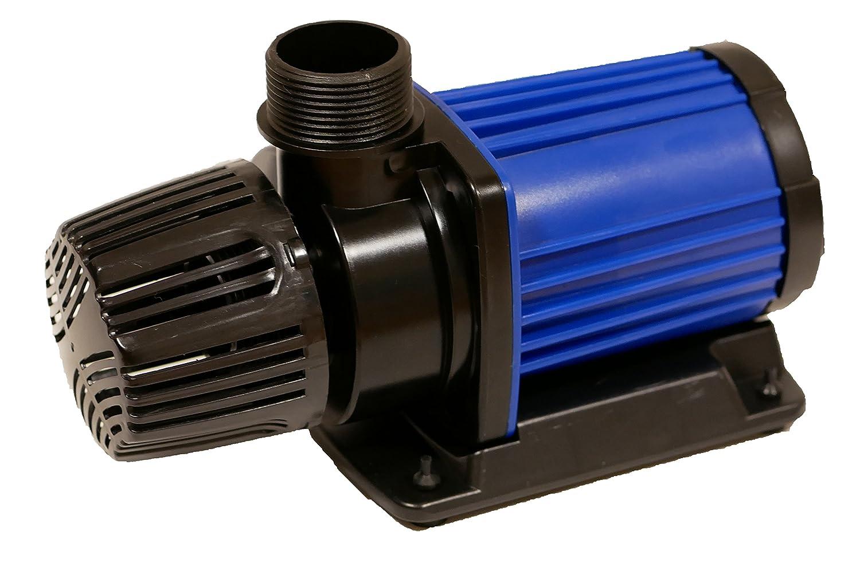 HSBAO DEP-8000 吐出量8000L/H (毎分133L) 揚程4.5m DCポンプ 水中ポンプ 水槽ポンプ 省エネ 低騒音 99段階流量調整 オーバーフロー水槽に最適80 B0789KHMF7