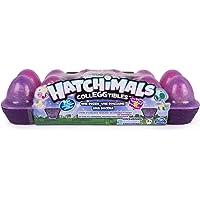 HATCHIMALS 6043928 Spielzeug Colleggtibles Eierkarton S4, 12 Stück