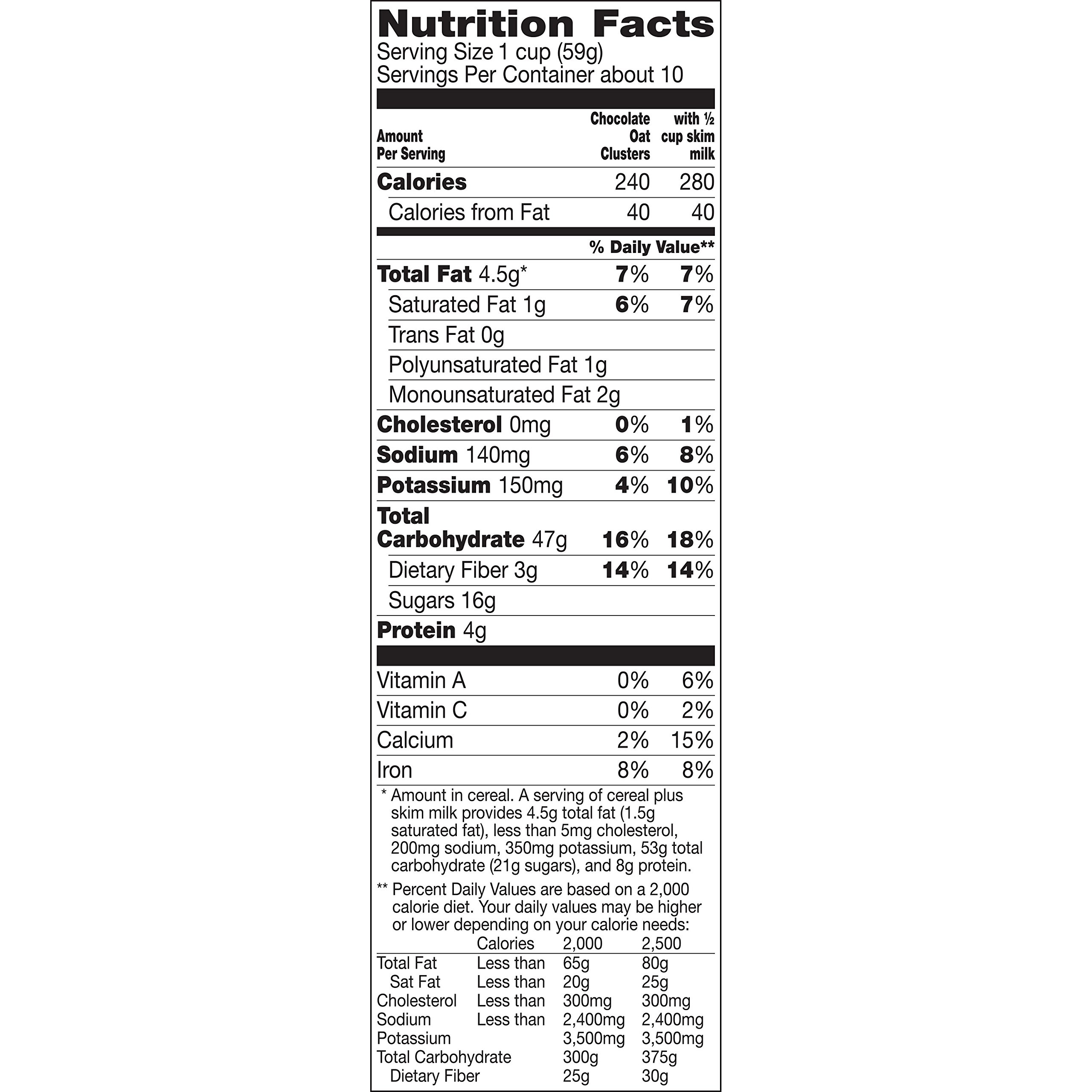 Nature Valley Oat Clusters Cereal Chocolate, 22.2 Ounce (Pack of 8) by Nature Valley (Image #1)