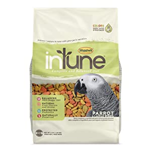 Higgins Intune Natural Food Mix for Parrots – The Most delicious pellet food