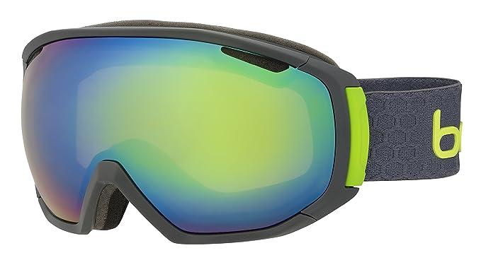 Gafas de esquí verde neón para sol Bollé