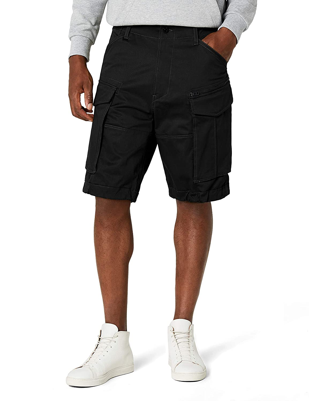 TALLA Talla del fabricante: 33. G-STAR RAW Rovic Zip Relaxed 1\2-Length Shorts Pantalones Cortos para Hombre
