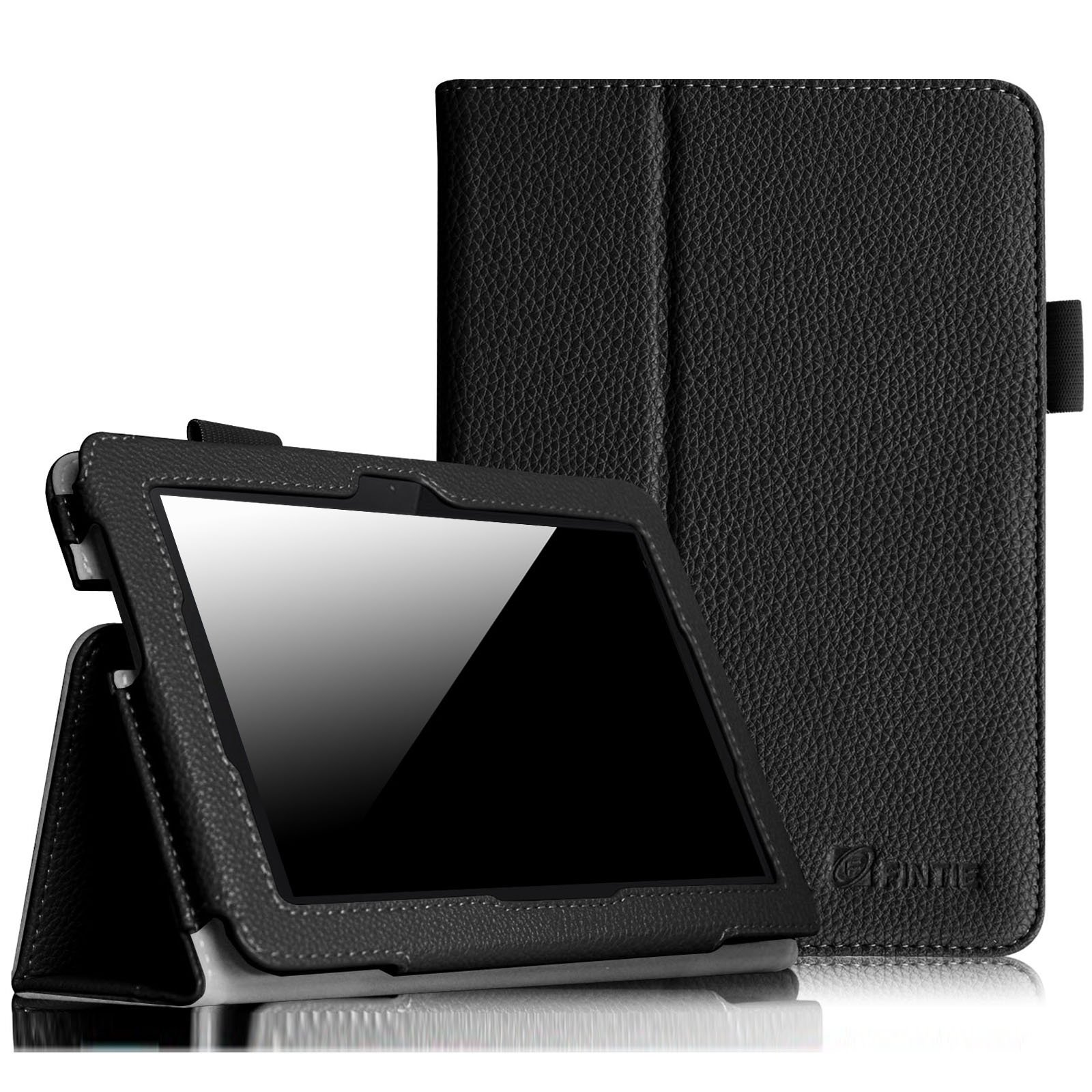 Fintie Folio Case for Fire HDX 7 - Slim Fit Leather Standing Protective Cover with Auto Sleep/Wake (will only fit Kindle Fire HDX 7'' 2013), Black