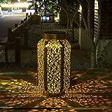 Homeimpro Solar Lantern Hanging Outdoor Warm White