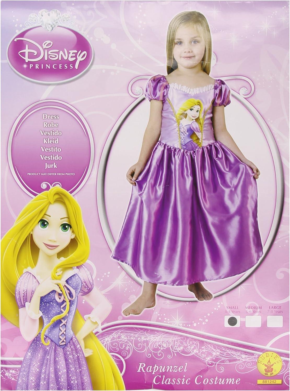Rubies`s - Disfraz Infantil de Rapunzel clásico (881242-S): Amazon ...
