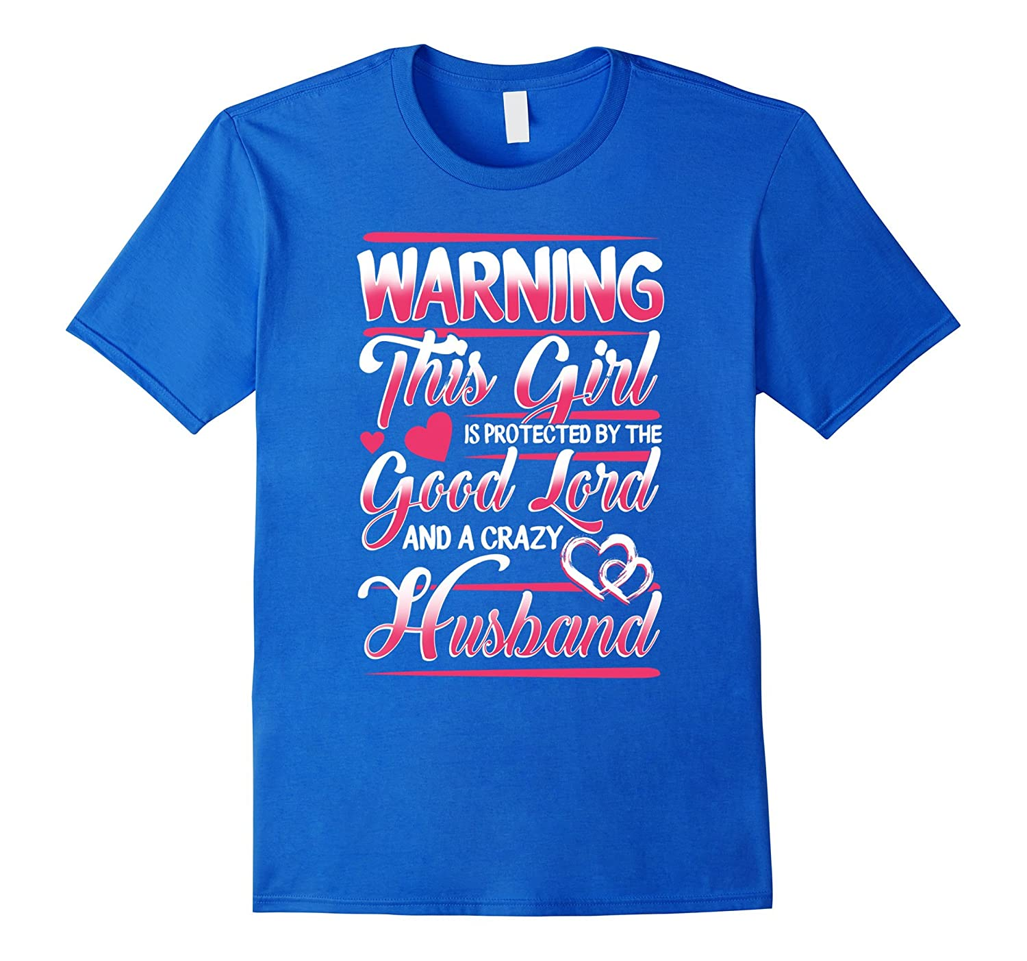 This Girls Is Protected By A Husband Tshirt