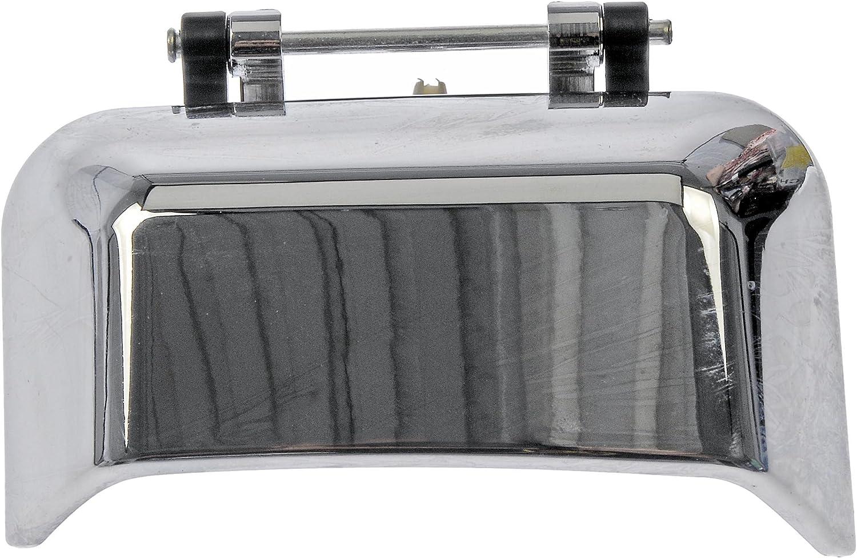 Chrome Dorman 91067 Rear Passenger Side Exterior Door Handle for Select Jeep Models
