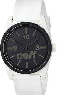 Neff Unisex NF0217BKRD Duo Analog Display Japanese Quartz Black Watch