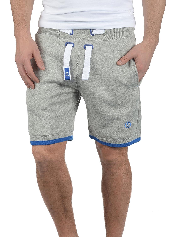 TALLA L. !Solid BenjaminShorts Pantalón Corto Chándal Sweat- Bermudas para Hombre con Forro Polar Suave Al Tacto
