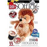 Plush Hearts 22 cm Hedgehog Sitting DIY Toy