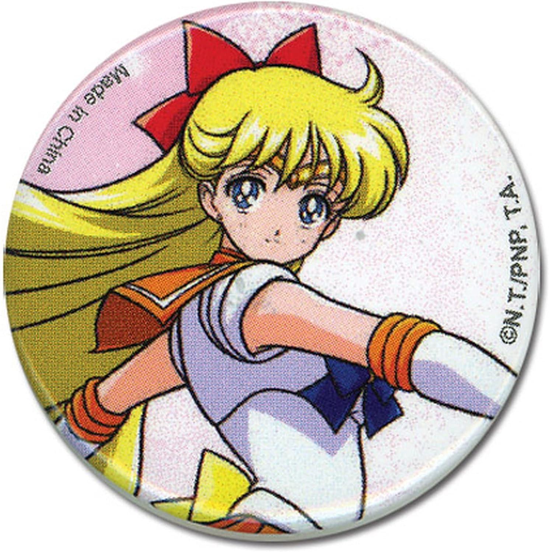 Great Eastern Entertainment Sailor Moon Venus Button, 1.25