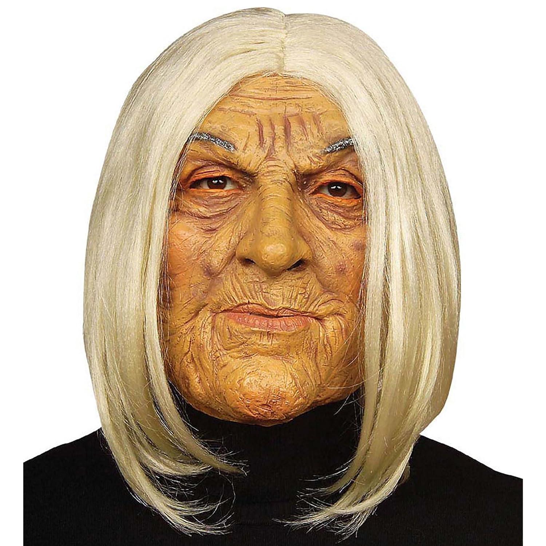 WIDMANN 6846 F Máscara Vieja Mujer, Multicolor: Amazon.es: Juguetes y juegos