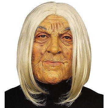 WIDMANN 6846 F Máscara Vieja Mujer, Multicolor