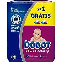 Dodot Activity Toallitas - Paquete de 4 x