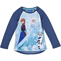 Frozen - Camiseta de manga larga para niña