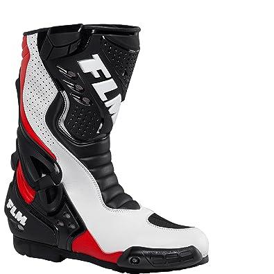 FLM Motorradstiefel lang, Motorradschuhe Sports Stiefel 1.0