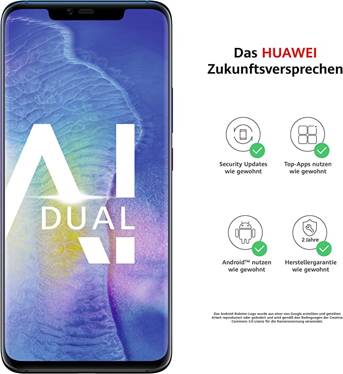 Huawei Mate20 Pro Dual Sim Smartphone Bundle Elektronik