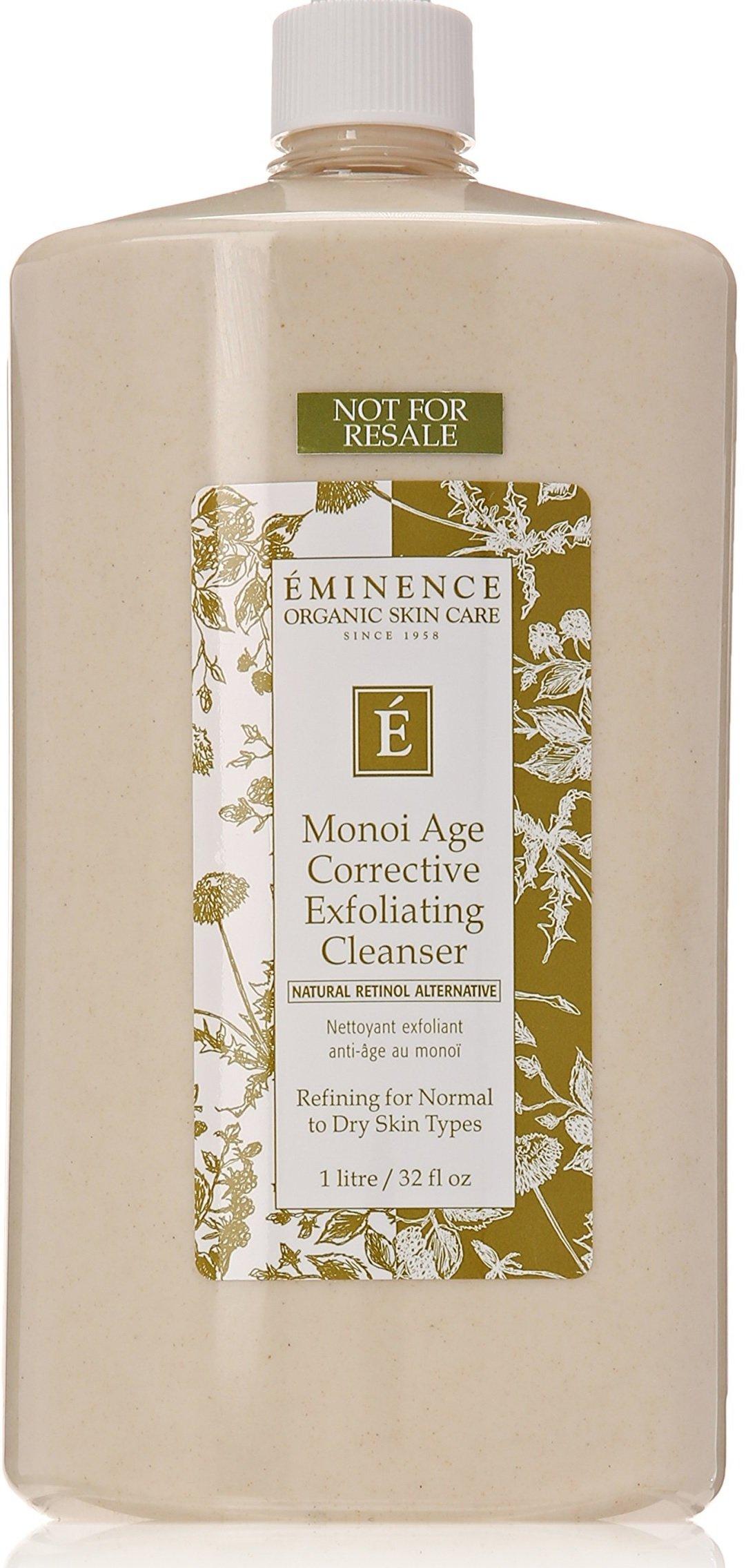 Eminence Monoi Age Corrective Exfoliating Cleanser, 32 Ounce