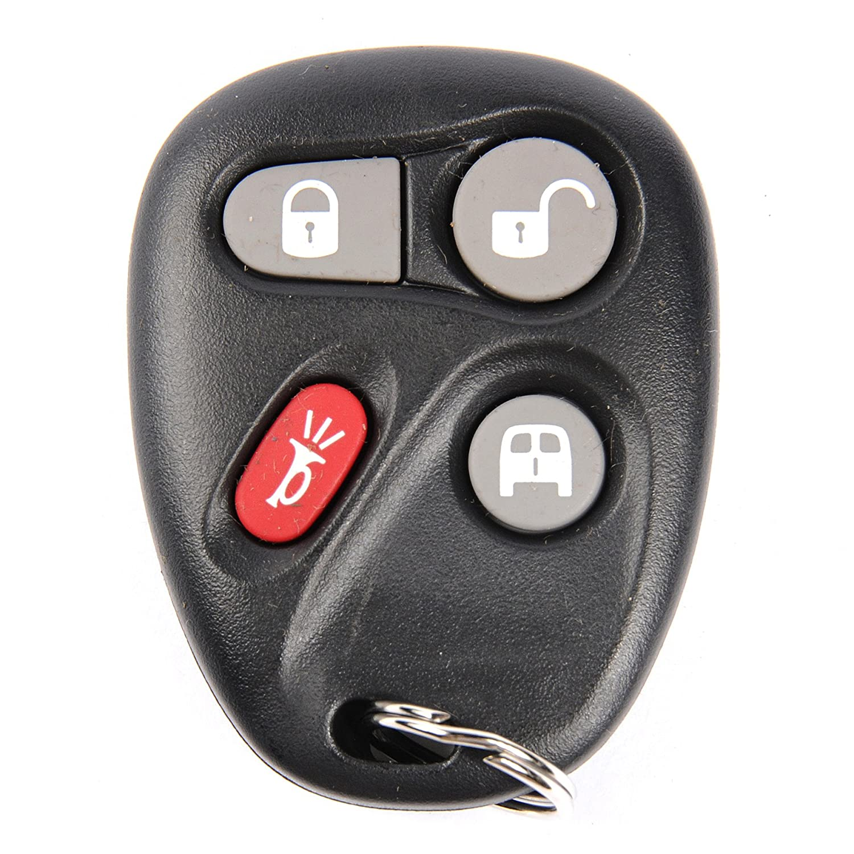 ACDelco 15752330 GM Original Equipment 4 Button Keyless Entry Remote Key Fob