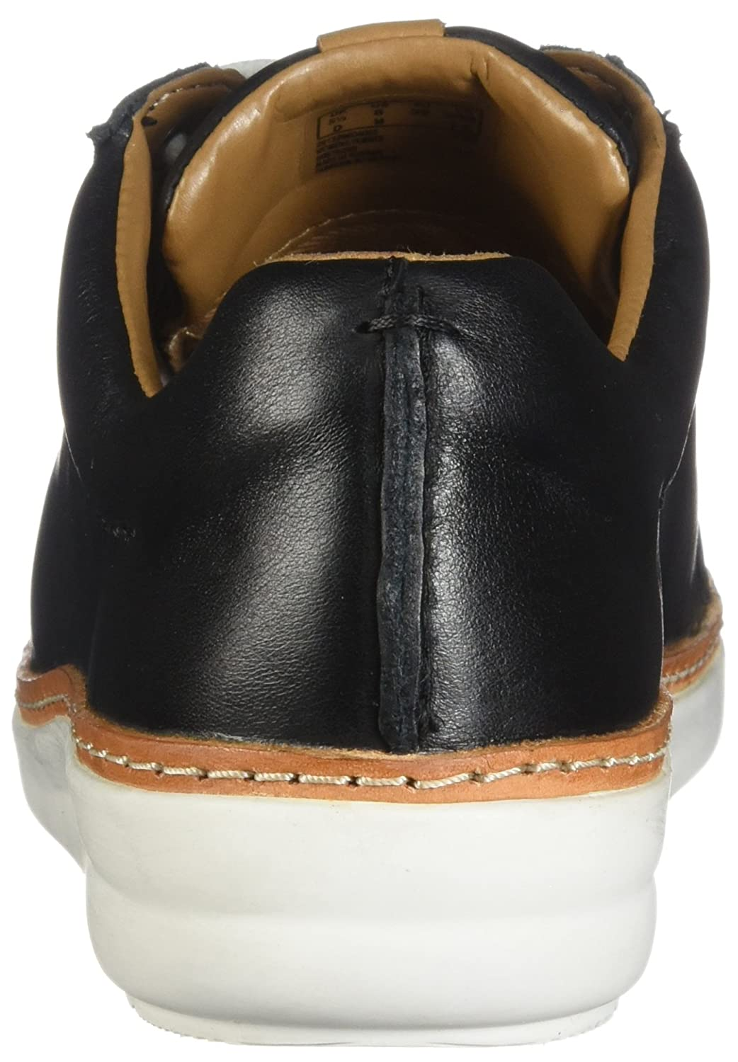 CLARKS Womens Amberlee Rosa Black Leather 7 D US