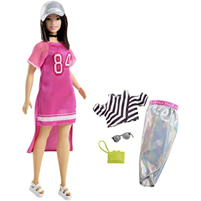 Barbie Fashionista Hot Mesh Doll: Toys & Games