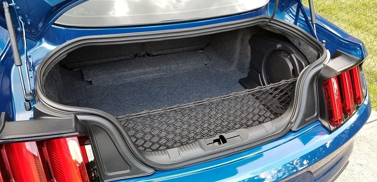 Envelope Style Trunk Cargo Net For Ford Mustang 2015 2016 2017 2018 Trunknets Inc