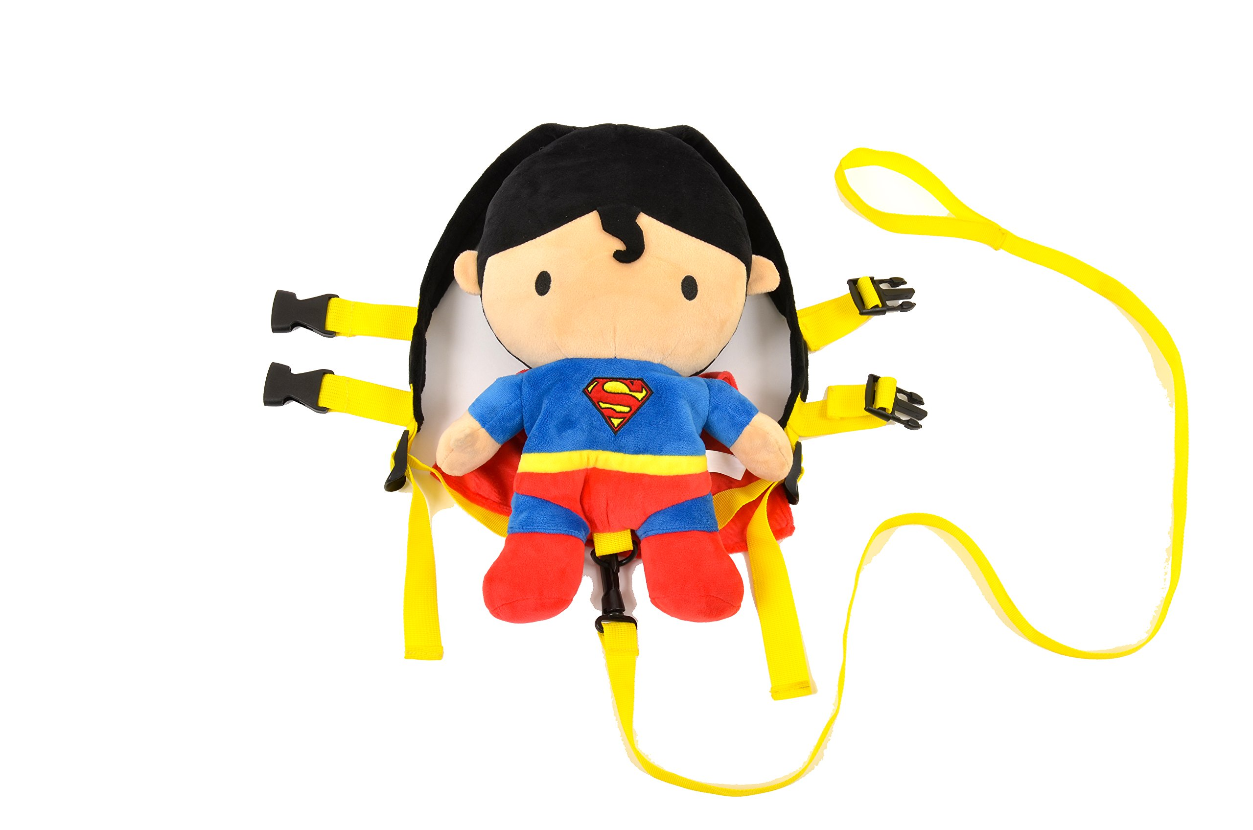 KidsEmbrace Superman Safety Harness Backpack, DC Comics 2 in 1 Harness Buddy, Red by KidsEmbrace (Image #2)
