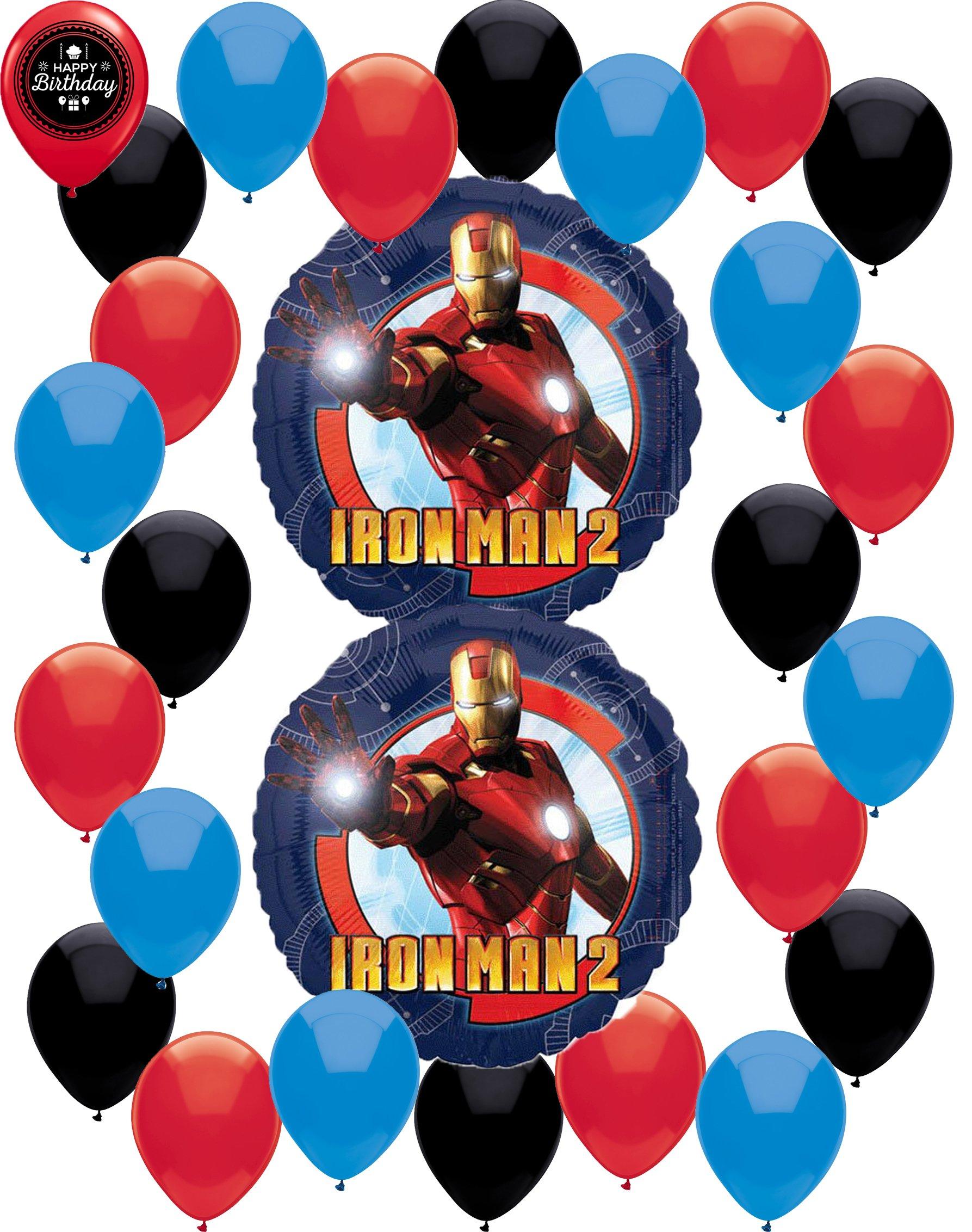 Iron Man 2 Balloon Decoration Bundle