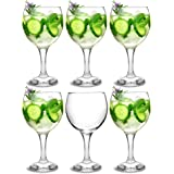 bar@drinkstuff City Gin Balloon Glasses 22.7oz/645ml - Set of 6 - Copa de Ballon Gin & Tonic Cocktail Glasses