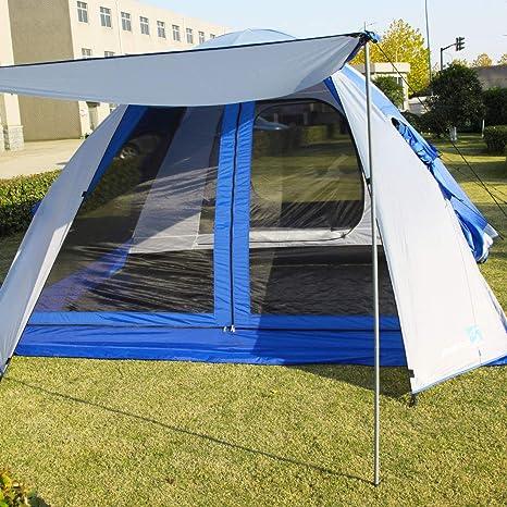 Peaktop 6 8 Person Camping Tent 2 Rooms 3000mm Waterproof