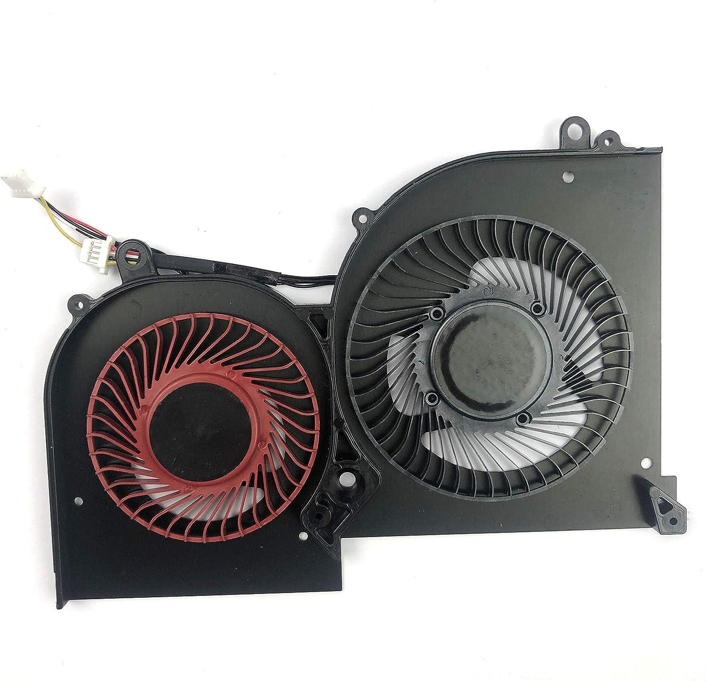 CPU+GPU Cooling Fan for MSI GS65 GS65VR MS-16Q2 16Q2-CPU-CW 16Q2-GPU-CW