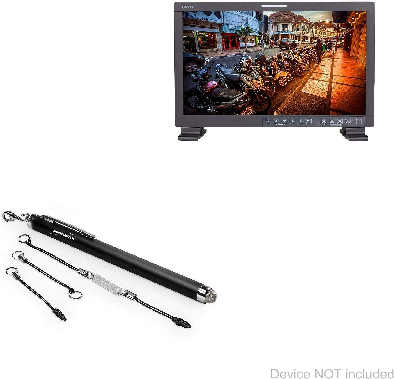 Jet Black BoxWave EverTouch Capacitive Stylus SWIT FM-17 Stylus Pen Fiber Tip Capacitive Stylus Pen for SWIT FM-17