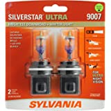 SYLVANIA 9007 SilverStar Ultra High Performance Halogen Headlight Bulb, (Contains 2 Bulbs)