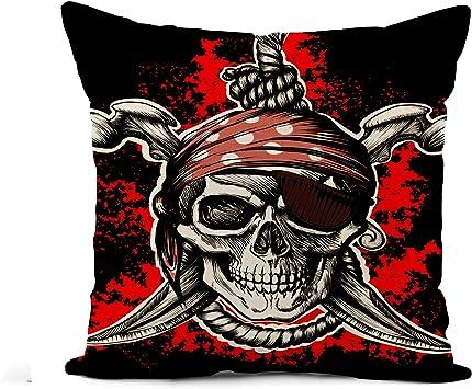 Amazon.com: Awowee - Funda de almohada de lino, diseño de ...