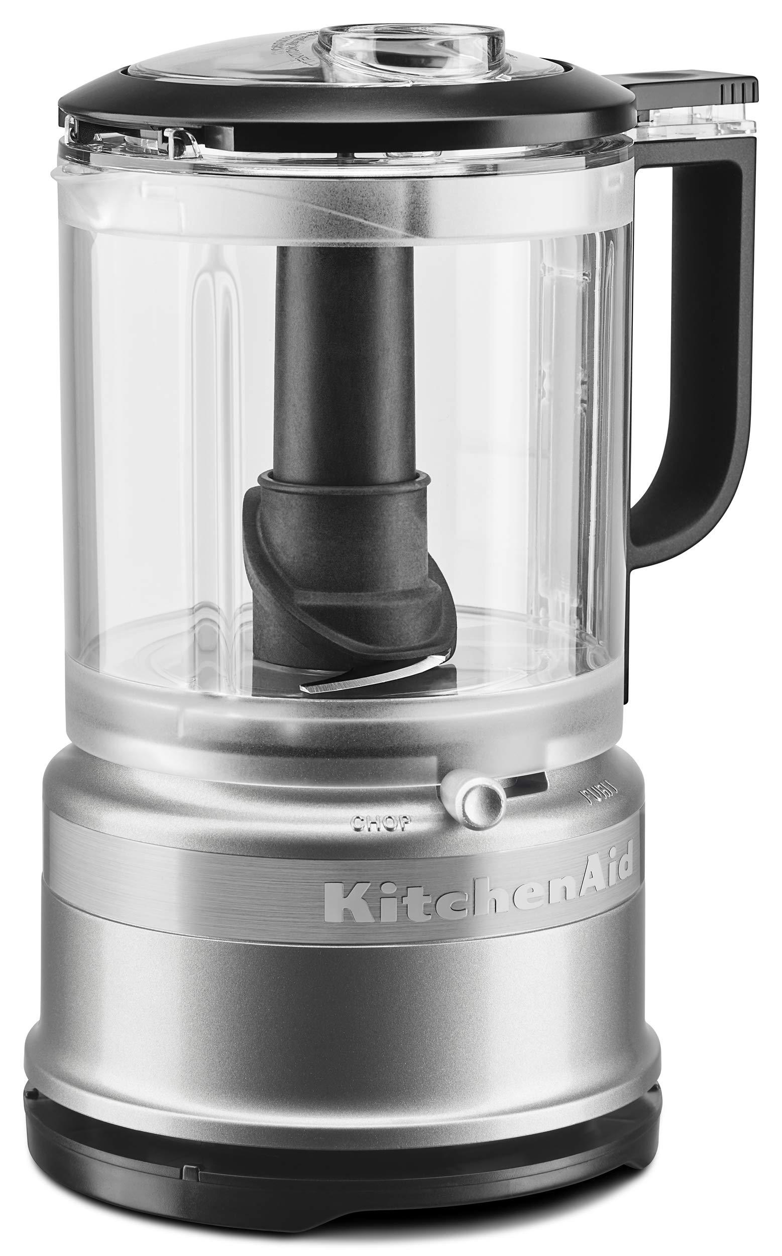 KitchenAid KFC0516CU 5 Cup Whisking Accessory Food Chopper, Contour Silver
