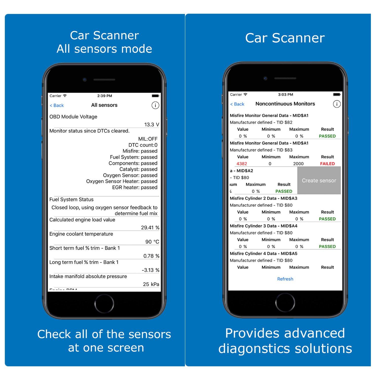 Audi Mercedes Benz Ford Supporto IOS /& Android /& Symbian /& Windows VW Hovinso OBD2 WIFI Interface Lettore Diagnosi Per Auto Italiano Strumenti diagnostici per motore OBD-II Per BMW
