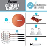 Franklin Sports Volleyball and Badminton Set