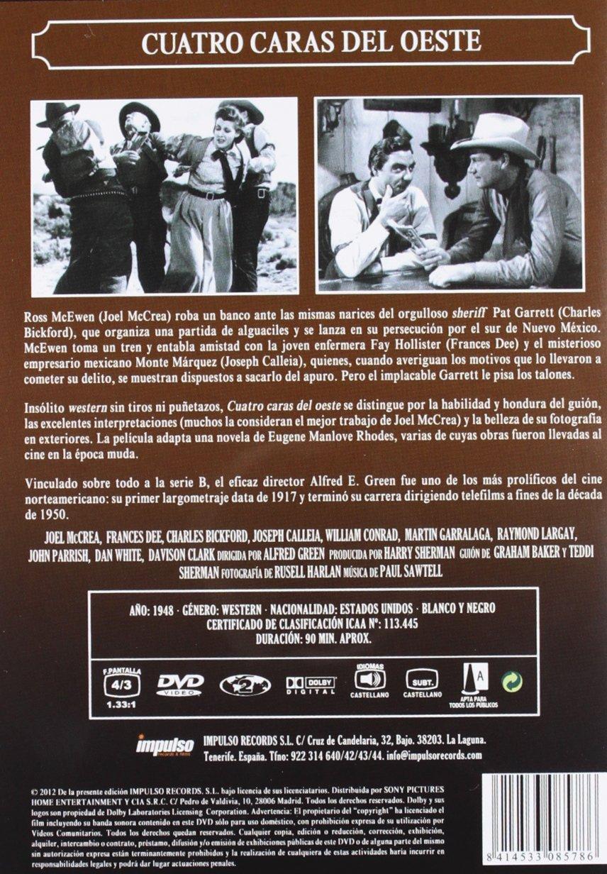 Amazon.com: Cuatro Caras Del Oeste [1948] (Import Movie) (European Format - Zone 2): Movies & TV