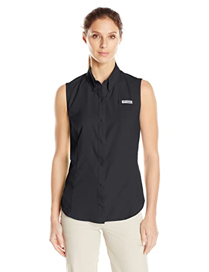 ea38b09d13d Amazon.com : Columbia Women's PFG Tamiami Sleeveless Shirt, UV Sun ...
