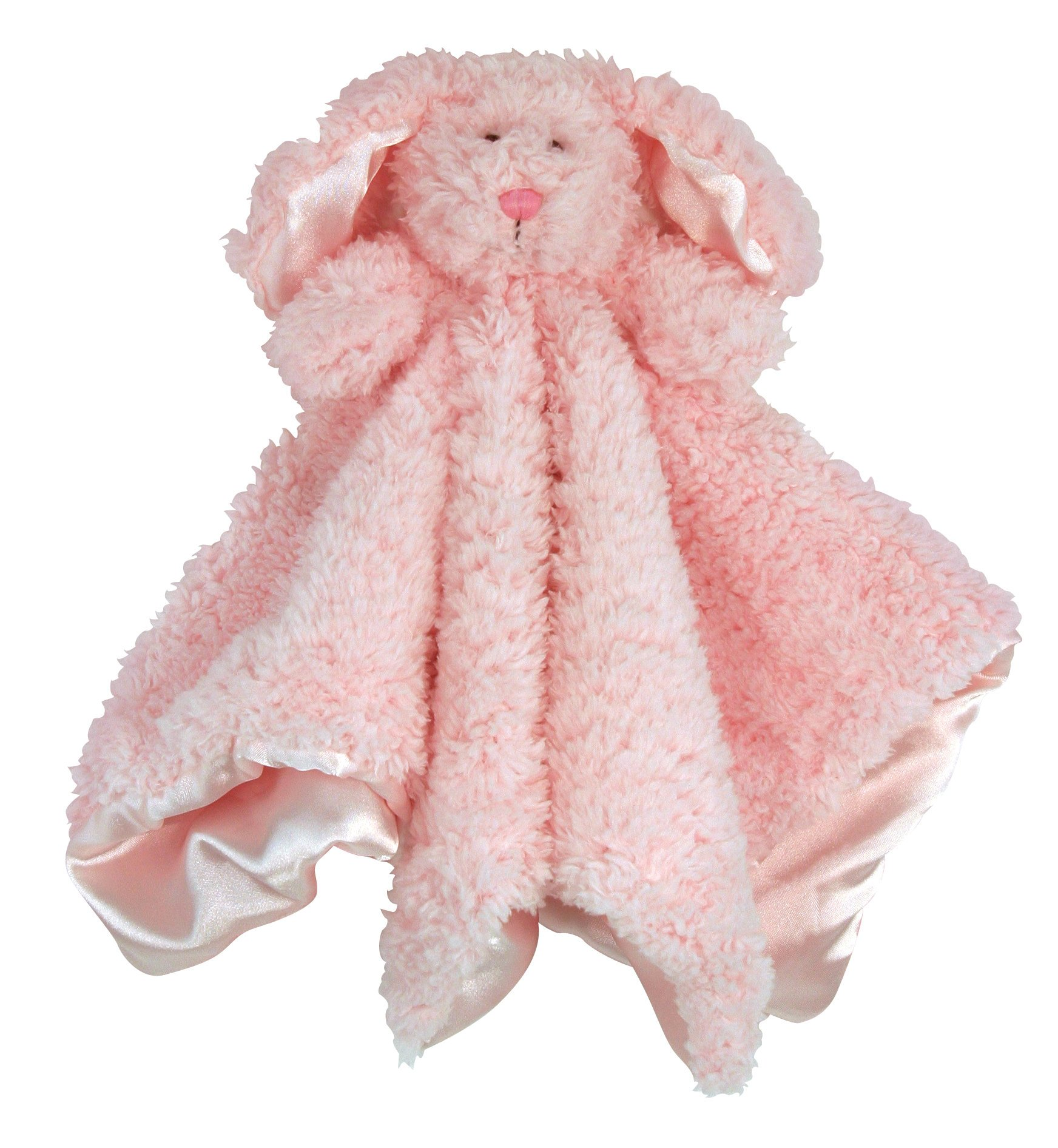 Stephan Baby Ultra Soft Cuddle Bud Blanket Bunnie, Pink product image