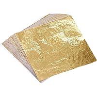 feuilles m/étalliques travaux manuels. peinture TWH Paillettes en feuille dor cuivre argent paillettes en aluminium dor/é pour dorure