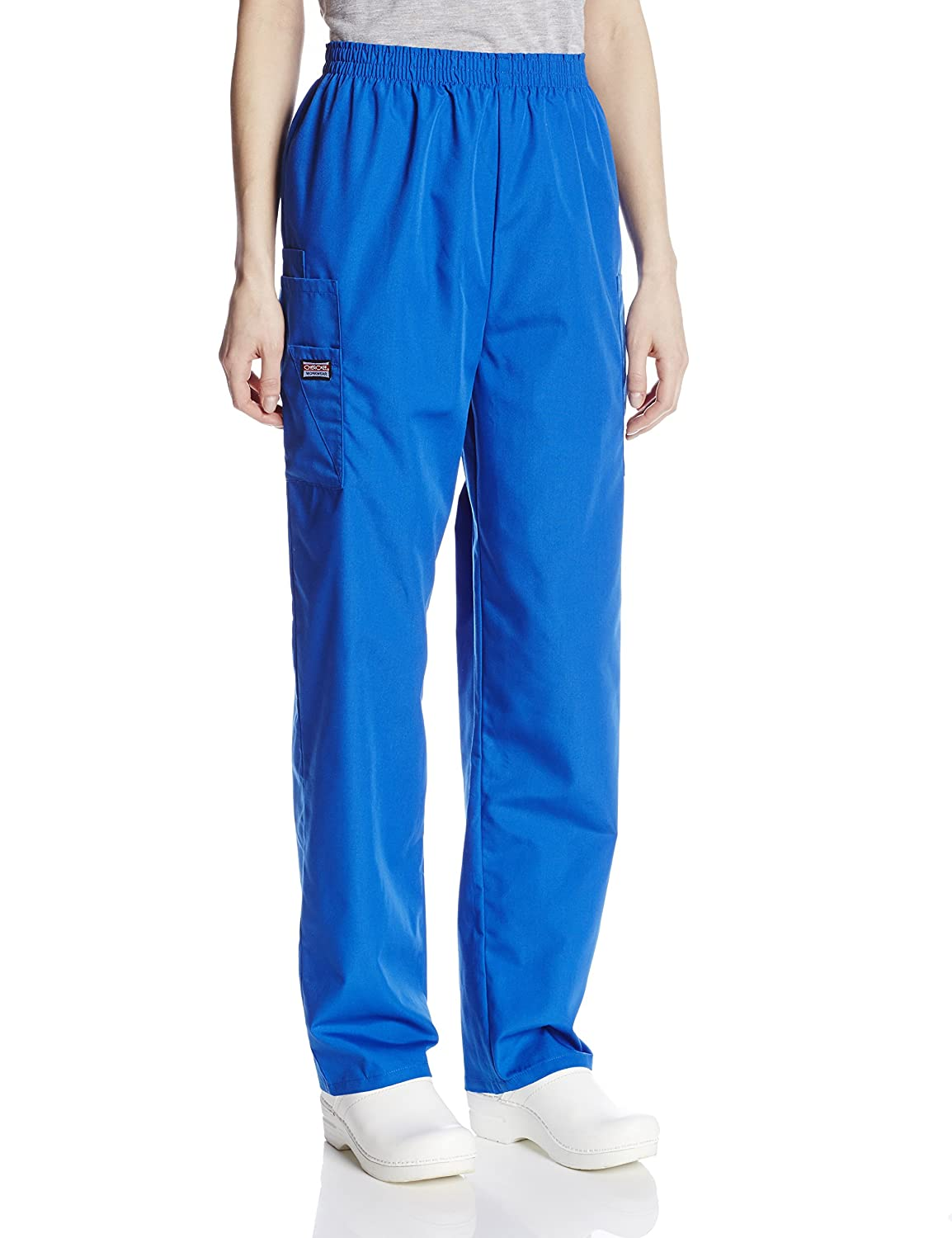 Cherokee Womens Workwear Scrubs Pull-On Cargo Pant