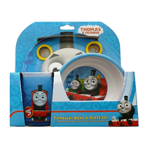 Thomas The Tank Engine and Friends Tumbler Bowl and Plate Set Amazon.co.uk Kitchen u0026 Home  sc 1 st  Amazon UK & Thomas The Tank Engine and Friends Tumbler Bowl and Plate Set ...