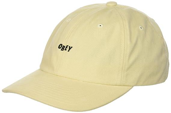 Obey Hombres Gorra de béisbol - Blanco -