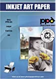PPD A4 Inkjet Printable Art Canvas (Canvas) Easy Feed - 10 Sheets