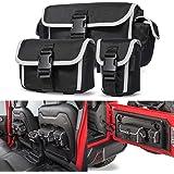 Car Backseat Storage Bag & Multi-Size Tailgate Organizer Bag for Jeep Wrangler YJ TJ JK JKU JL JLU