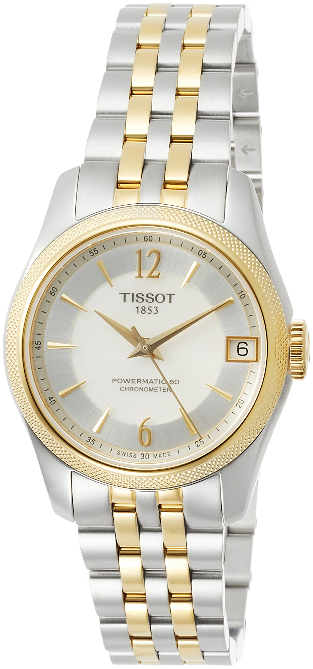 Tissot T-Classic Ballade Automatic Mother of Pearl Dial Ladies Watch T108. 208. 22. 117. 00