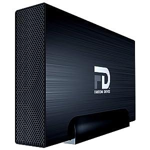 Fantom Drives 6TB External Hard Drive - 7200RPM USB 3.0/3.1 Gen 1 Aluminum Case - Mac, Windows, PS4, and Xbox (GF3B6000UP)