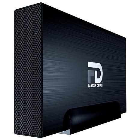 Fantom Drives 2TB External Hard Drive - 7200RPM USB 3.0/3.1 Gen 1 Aluminum Case - Mac, Windows, PS4, and Xbox (GF3B2000UP)